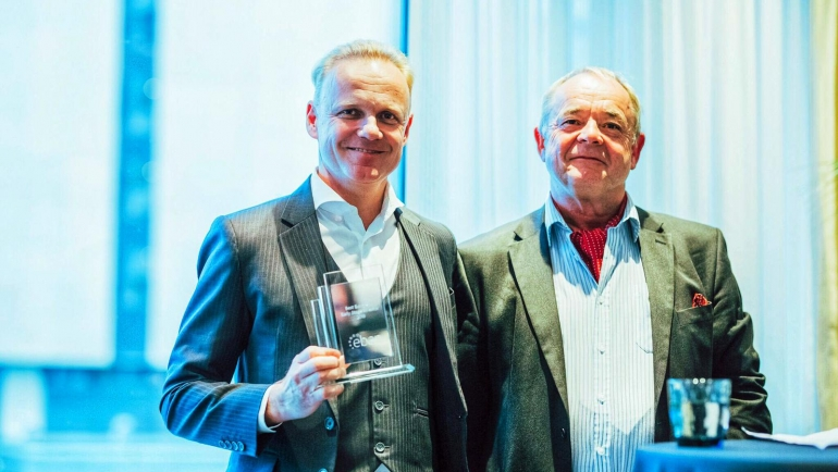 "Ian Sosso, founder of Monte Carlo Capital, wins ""best European early stage investor"" award"
